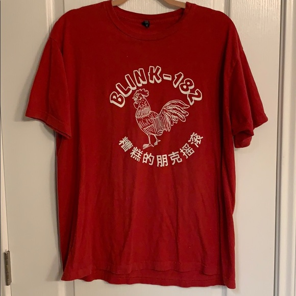 Tops - Blink 182 sriracha concert shirt
